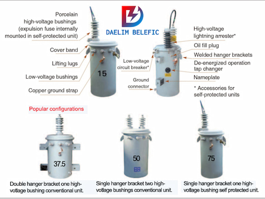 single phase Oil-cooled Transformer